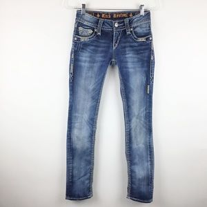 Rock Revival Jacklyn Straight Stretch Jeans l 25